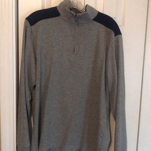 Men's Brooks Brothers quarter zip pullover
